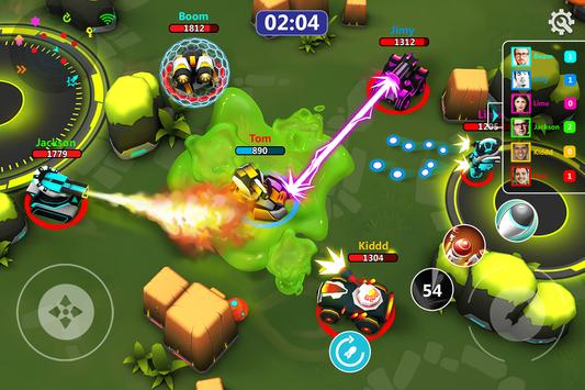 Online Tank Raid: Juego 3D de Tanques captura de pantalla 7
