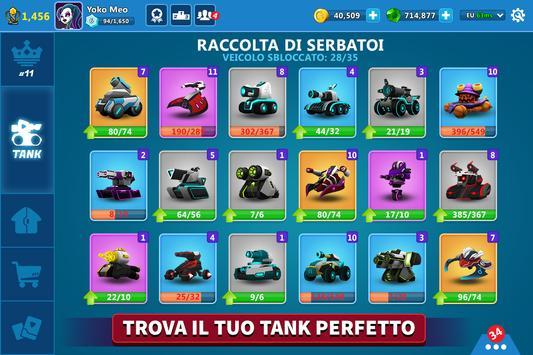 9 Schermata Tank Raid