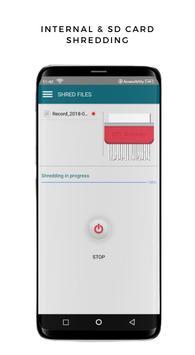 SHREDDER : Permanent Delete - Safe & Secure Erase تصوير الشاشة 3