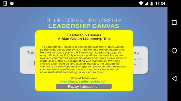 Leadership Canvas poster