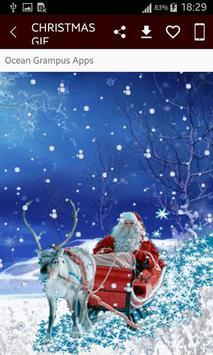 GIF Christmas Santa Wishes Greeting Cards Stickers screenshot 2