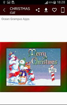 GIF Christmas Santa Wishes Greeting Cards Stickers screenshot 5