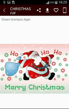 GIF Christmas Santa Wishes Greeting Cards Stickers screenshot 6