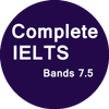 IELTS Full - Band 7.5+-icoon
