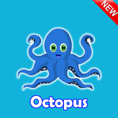 Octopus: keyboard, mouse, gamepad tutorial أيقونة