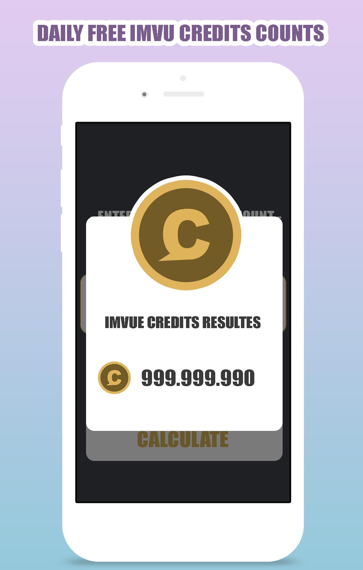 Free IMVU Credits Calculator for Android - APK Download