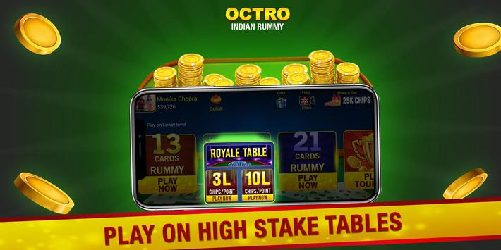 Indian Rummy  by Octro - Free Online Rummy screenshot 4