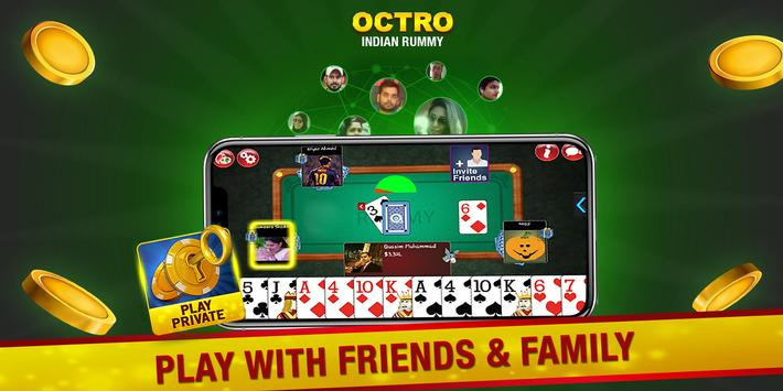 Indian Rummy  by Octro - Free Online Rummy screenshot 1