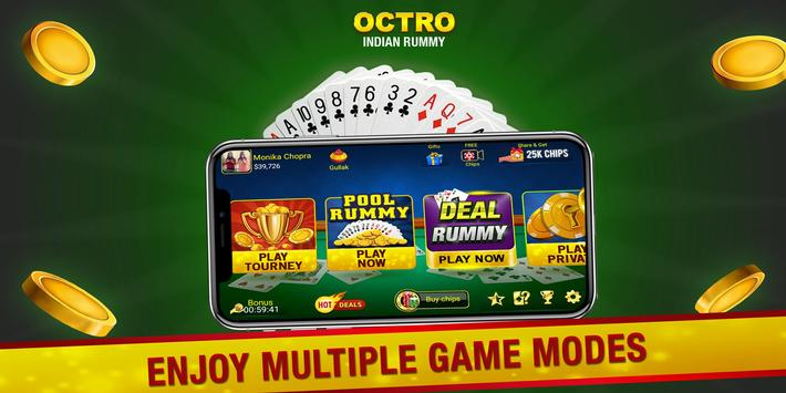 Indian Rummy  by Octro - Free Online Rummy screenshot 2