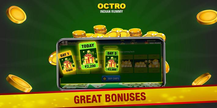 Indian Rummy  by Octro - Free Online Rummy screenshot 3