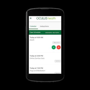 Oculus Health screenshot 2