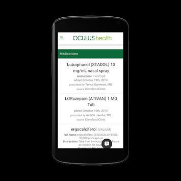 Oculus Health screenshot 3