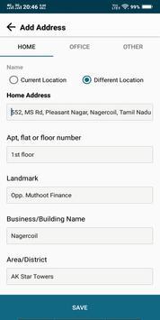 Oddo Delivery App screenshot 2