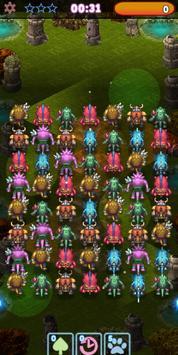 Monster Pop Party  - 3 match game screenshot 5