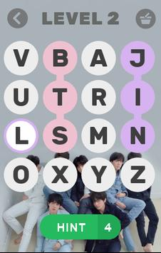 BTS WORD GAME screenshot 1