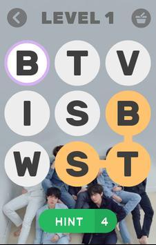 BTS WORD GAME screenshot 5