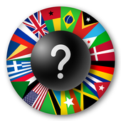 Flags Game - World countries pop-quiz icon