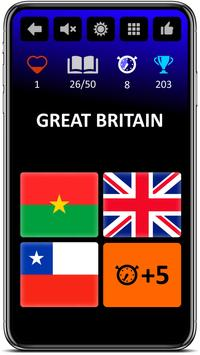 Flags Game - World countries pop-quiz screenshot 5