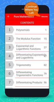 A levels Mathematics Textbook screenshot 7