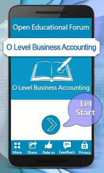 O levels Business AccountingTextbook poster