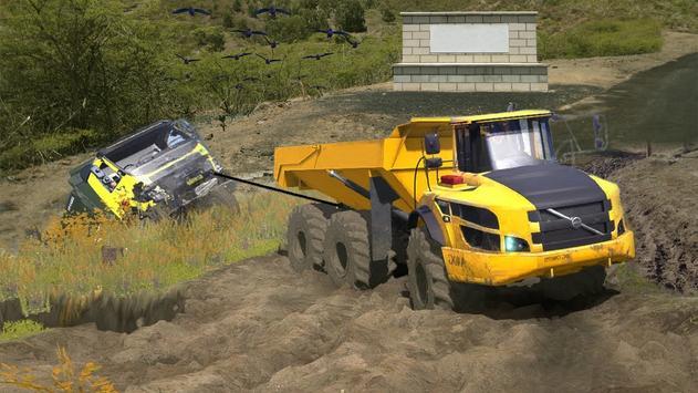 Uphill Logging Truck Game screenshot 1