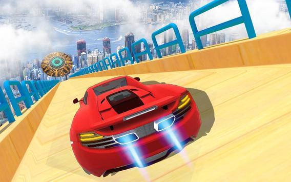 Mega Track Impossible Ramp Racing Stunt Master screenshot 2