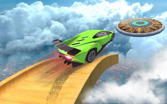 Mega Track Impossible Ramp Racing Stunt Master screenshot 9