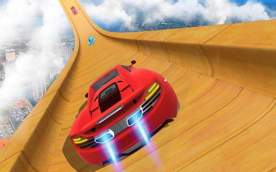 Mega Track Impossible Ramp Racing Stunt Master screenshot 3