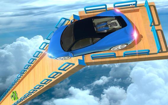 Mega Track Impossible Ramp Racing Stunt Master screenshot 8
