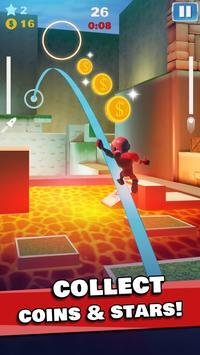 Rocket Riders: 3D Platformer screenshot 5