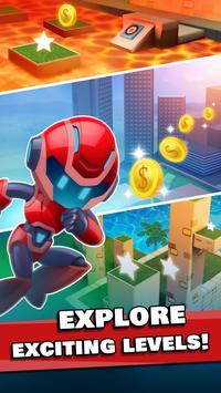 Rocket Riders: 3D Platformer screenshot 6