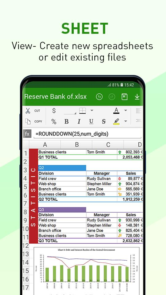 Office Viewer – Word Office for Docx & PDF Reader para Android - APK