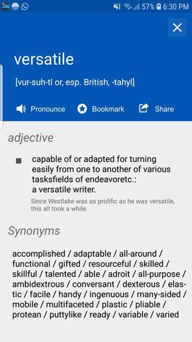 Offline English Dictionary - Learn Vocabulary, TTS for