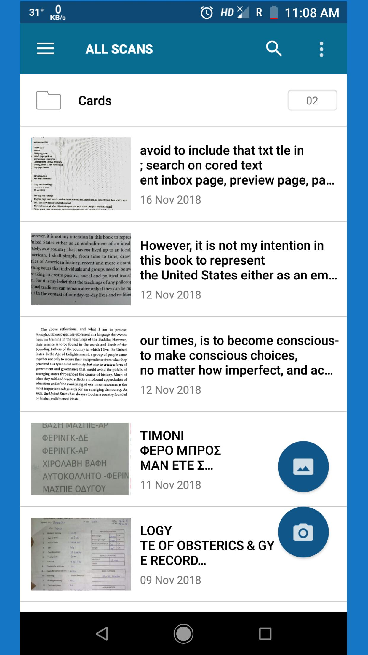 OCR Text Scanner : Convert an image to text for Android