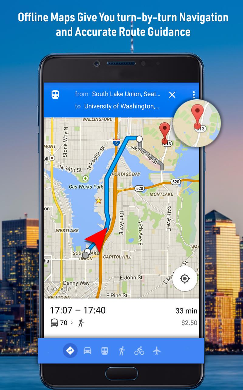 GPS Offline Navigation Route Maps & Direction for Android ... on google chrome search, google sync android, google maps android icon, city maps 2go android, google docs offline android,