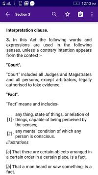 Indian Evidence Act, 1872 (Updated) screenshot 2
