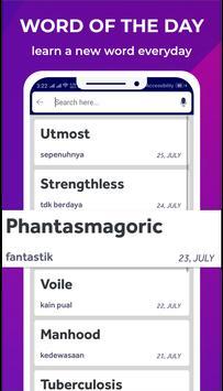 Bhasha Dictionary & Translator Word Builder Quiz screenshot 4