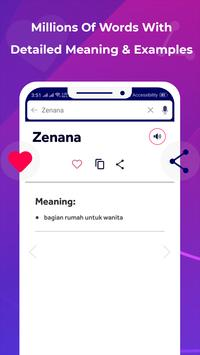 Bhasha Dictionary & Translator Word Builder Quiz screenshot 7