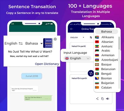 Bhasha Dictionary & Translator Word Builder Quiz screenshot 2