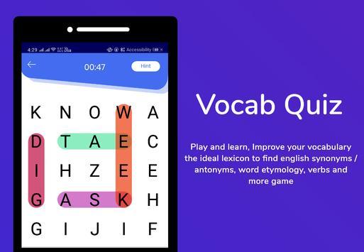 Bhasha Dictionary & Translator Word Builder Quiz screenshot 3