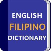 Filipino Dictionary & Translator Word Builder Quiz icon