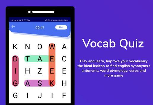 Filipino Dictionary & Translator Word Builder Quiz screenshot 3