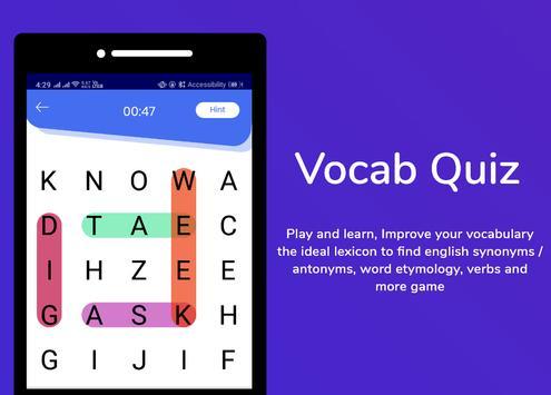 Korean Dictionary & Translator Word Builder Quiz screenshot 3