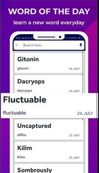 Hungarian Dictionary Translator Word Builder Quiz screenshot 5