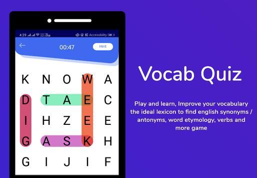 Hungarian Dictionary Translator Word Builder Quiz screenshot 3