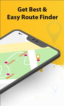 GPS Maps Location Tracker: Shortest Route Finder screenshot 1