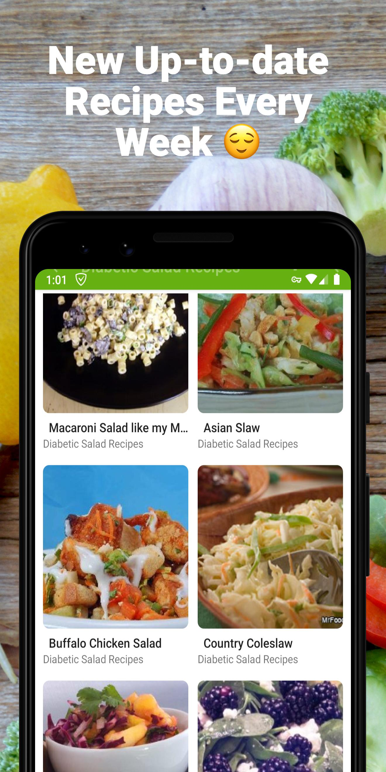 Diabetic Salad Recipes For Android Apk Download