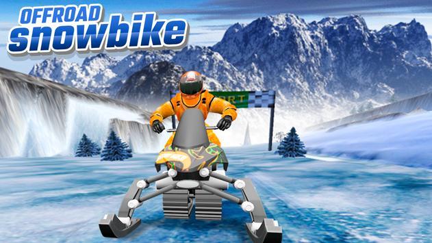 OffRoad Snow Bike تصوير الشاشة 5