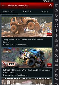Extreme Off-Road 4x4 Video Compilations screenshot 4