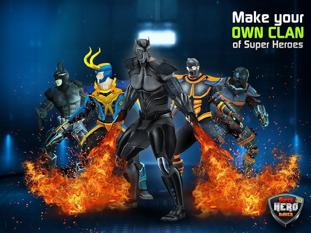 Superhero Machines